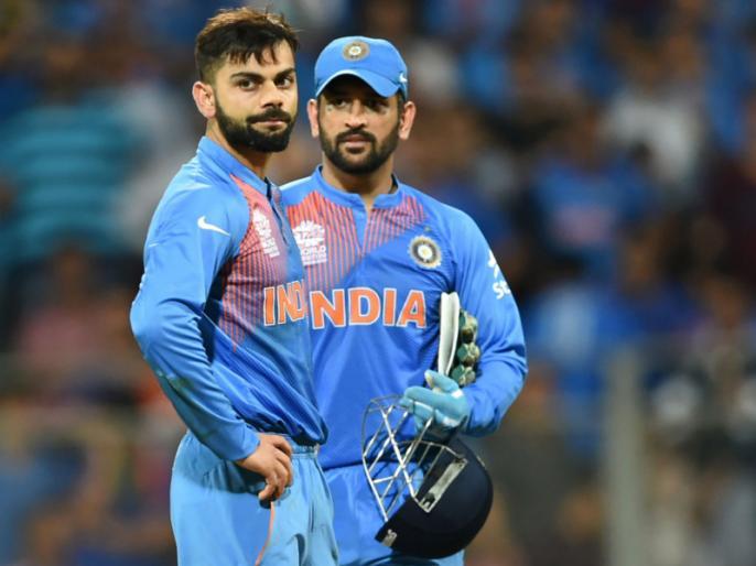 Michael Hussey appreciates the way Virat Kohli respects MS Dhoni presence in the team | विराट कोहली जिस तरह करते हैं धोनी की टीम में मौजूदगी का सम्मान, उससे प्रभावित हसी ने कहा, 'कुछ लोगों को उनका होना लगता खतरा'