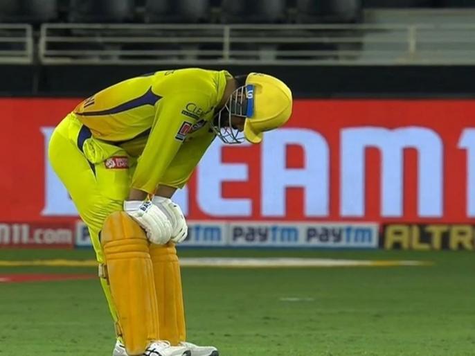 Dhoni on CSK defeat said We are making the same mistakes again   IPL 2020: लगातार तीन हार पर धोनी ने तोड़ी चुप्पी, बताया कहां हो रही है खिलाड़ियों से गलती