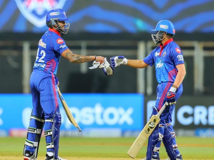 IPL 2021 Chennai vs Delhi shikhar dhawan and prithvi shaw help delhi win | IPL 2021: चेन्नई सुपर किंग्स के खिलाफ शिखर धवन 'गब्बर' की दहाड़ से गूंजा वानखेड़े स्टेडियम, दिल्ली ने 7 विकेट से जीता मैच