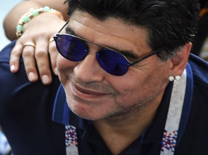 Diego Armando Maradona Death News: footballer 'Hand of God', Sourav Ganguly said this | Diego Armando Maradona Death News: नहीं रहें महान फुटबॉलर 'हैंड ऑफ गॉड', सौरव गांगुली ने ट्वीट कर जताया शोक