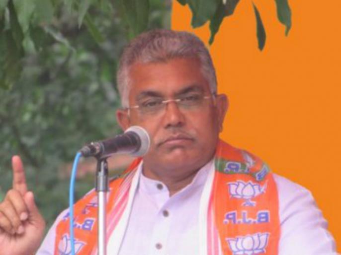 West Bengal bjp tmc coronavirus over Dilip Ghosh asked to go to doctor | दिलीप घोष ने कहा, ''कोरोना खत्म हो चुका है'', टीएमसी ने डॉक्टर के पास जाने के लिए कहा