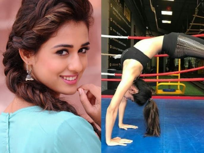 Video: Disha Patani surprised fans with her exercise video, getting high praise on social media   Video: दिशा पटानी ने अपने एक्सरसाइज वीडियो से फैंस को किया हैरान, सोशल मीडिया पर जमकर हो रही तारीफ