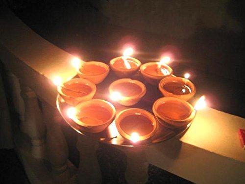 Chinese light Diyas made 33 crore dung compete India produces around 192 Crore kg per day | चीनी लाइट को टक्कर देंगेगोबर से बने 33 करोड़ दीये,भारत में प्रतिदिन लगभग 192 करोड़ किलो गोबर का उत्पादन