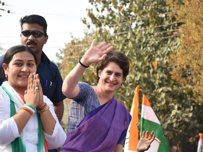 Lok sabha election 2019 Dolly sharma congress candidate of Ghaziabad seat   जानें कौन हैं गाजियाबाद सीट से कांग्रेस प्रत्याशी डॉली शर्मा, जिनके लिए प्रियंका गांधी ने किया रोड शो