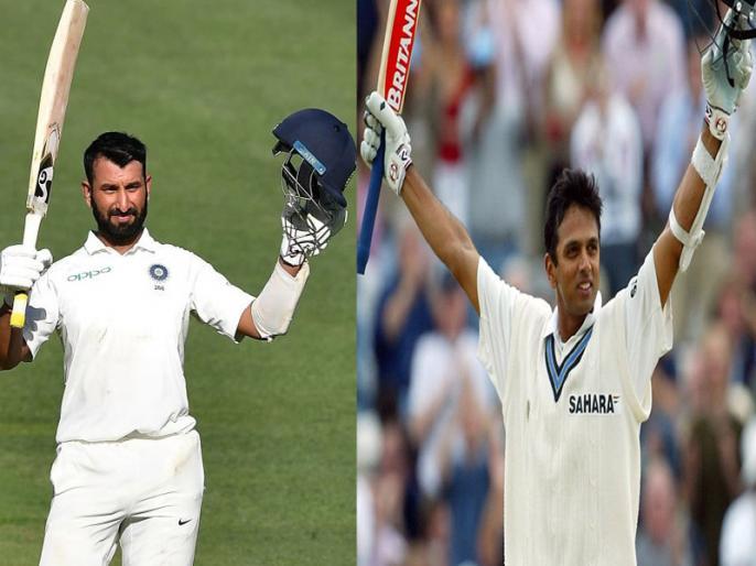 Ind vs Aus: Cheteshwar Pujara completes 3000, 4000 and 5000 Test runs like Rahul Dravid | Ind vs Aus: द्रविड़ और पुजारा के बीच गजब का संयोग, बराबर पारियां खेलकर बनाए 3000, 4000 और 5000 टेस्ट रन