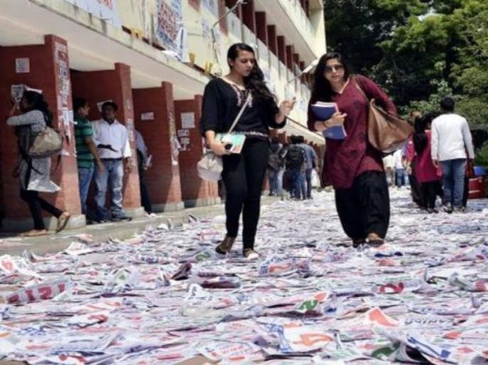 Dusu Election 2019: Voting continues in Delhi University, NSUI candidate arrested   Dusu Election 2019: दिल्ली यूनिवर्सिटी में छात्र संघ चुनाव के लिए वोटिंग जारी, NSUI का उम्मीदवार गिरफ्तार