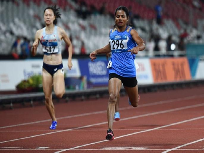 Dutee Chand wins 100m gold in World Universiade, creates history | दुती चंद ने रच दिया इतिहास, 100 मीटर रेस के ग्लोबल इवेंट में भारत के लिए जीता पहला गोल्ड