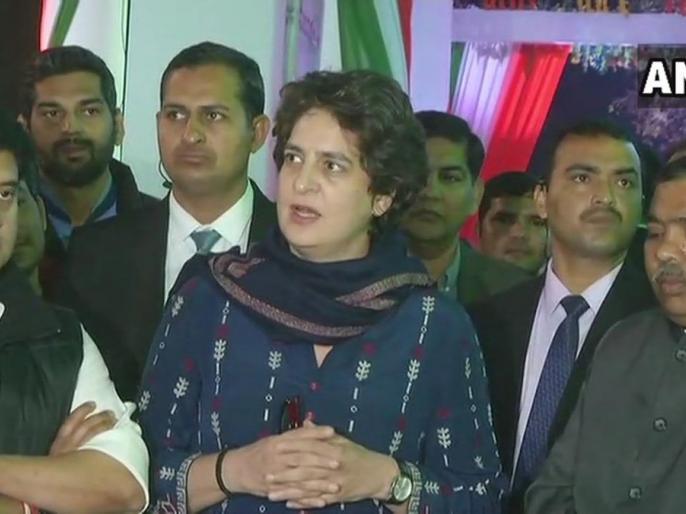 BJP APNA DAL vs Congress Mahan dal, in presence of Priyanka Gandhi | बीजेपी के 'अपना दल' की काट में कांग्रेस ने 'महान दल' से किया गठबंधन, प्रियंका गांधी भी थी मौजूद