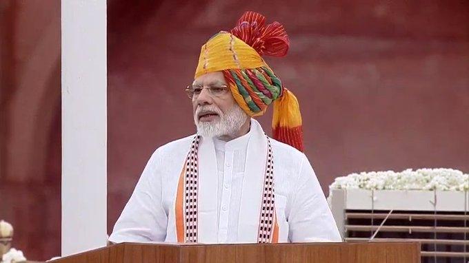 Independence Day 2019 PM narendra Modi speech at red fort says Article 370 Repeal Fulfills Sardar Vallabhbhai Patel's Dream | स्वतंत्रता दिवस: PM मोदी ने कहा, अनुच्छेद 370 को खत्म करके सरदार पटेल के सपने को पूरा किया