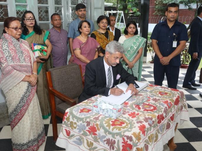 Assam Citizens List India's Internal Matter: Foreign Minister Jaishankar | असम में एनआरसी पर बोले विदेश मंत्री एस. जयशंकर-अवैध प्रवासियों की पहचान की प्रक्रिया भारत का आंतरिक मामला