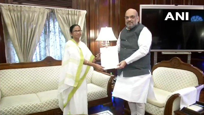 CM Mamata met PM Modi and Amit Shah, Bengal BJP leader said- It is good that Banerjee got goodwill   सीएम ममता मिलीं पीएम मोदी और अमित शाह से, बंगाल भाजपा नेता ने कहा-यह अच्छी बात है कि बनर्जी कोसदबुद्धि आई