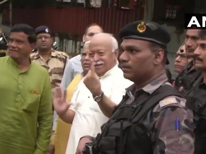 Maharashtra Assembly election: All politics, Mohan Bhagwat slams Congress on row over Bharat Ratna for Savarkar | RSS प्रमुख मोहन भागवत ने कहा, बीते 90 वर्षों से हमें निशाना बनाया जा रहा, सावरकर को भारत रत्न पर दिया ये जवाब
