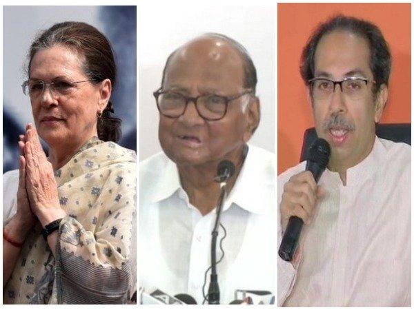 Congress, Shiv Sena and NCP to form government in Maharashtra, Assembly Speaker will be eyeed by all, three parties will have 14 ministers | महाराष्ट्र में सरकार बनाएंगेकांग्रेस, शिवसेना और राकांपा,विधानसभा अध्यक्ष पर सबकीनजर, तीनों दल के होंगे 14-14 मंत्री