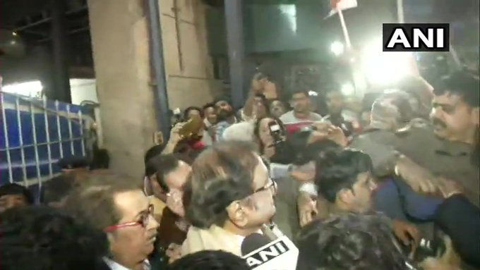 Former Union Minister P. Chidambaram to come out of Tihar in a while, Congress supporters gathered outside, jailed for 106 days | INX मीडिया मामलाः तिहाड़ से रिहा हुएपूर्व केंद्रीय मंत्री पी. चिदंबरम,सोनिया गांधी से मिलने पहुंचे