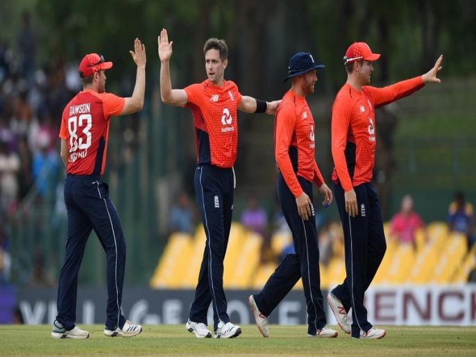 England beat Sri Lanka by 31 runs with DLS method in 2nd ODI | SL vs ENG: लसिथ मलिंगा के 5 विकेट बेकार, इंग्लैंड ने वर्षा प्रभावित दूसरे वनडे में श्रीलंका को 31 रन से हराया