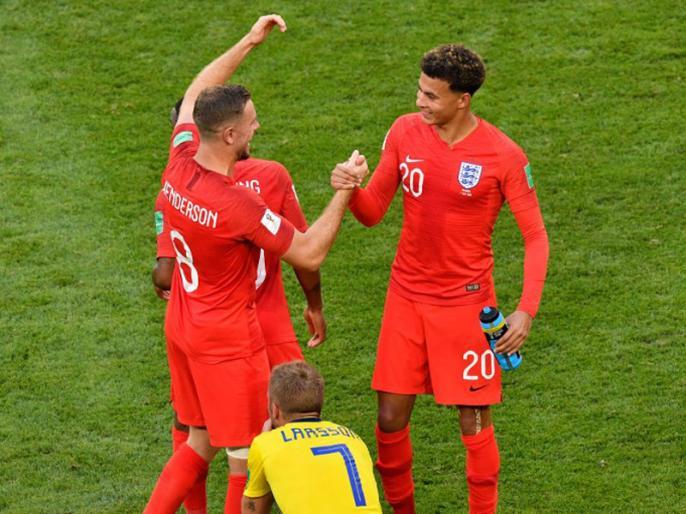 FIFA World Cup 2018, 3rd Quarter Final: England beat Sweden by 2-0 to qualify in Semi Final | FIFA: इंग्लैंड ने वर्ल्ड कप में पहली बार स्वीडन को हराया, 1990 के बाद पहली बार सेमीफाइनल में