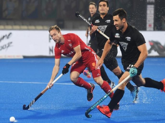 hockey world cup england beat new zealand by 2 0 set up quarterfinals with argentina | हॉकी वर्ल्ड कप क्रॉस ओवर: इंग्लैंड ने न्यूजीलैंड को 2-0 से हराया, क्वॉर्टर फाइनल में अर्जेन्टीना से सामना