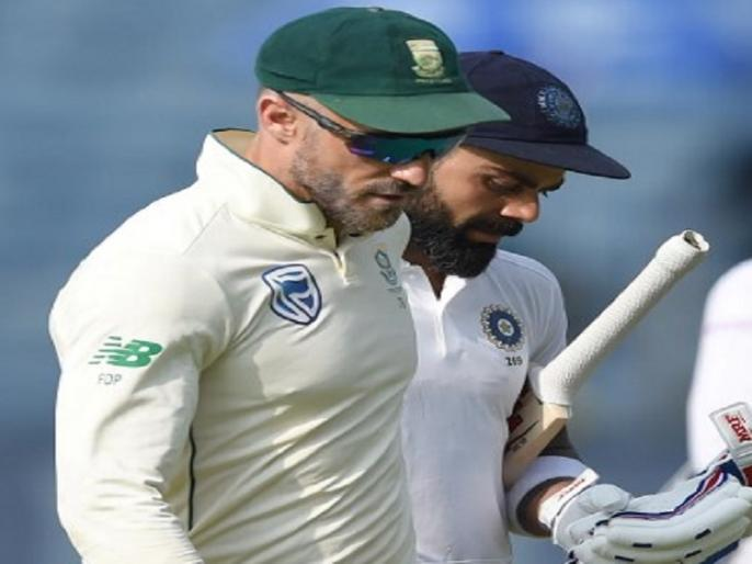 Captain Faf Du Plessis go for toss with Vice-captain Temba Bavuma against India | Ind vs SA, 3rd Test: टॉस जीतने के लिए काम नहीं आया कप्तान का यह टोटका, लगातार 10वीं बार गंवाया टॉस