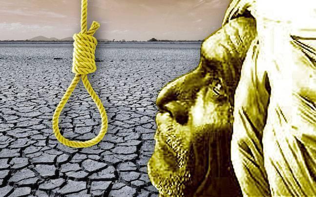 Maharashtra: Upset over water scarcity, farmer commits suicide.   महाराष्ट्र में पानी की कमी से परेशान एक किसान ने की खुदकुशी