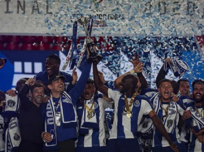 FC Porto Beat Benfica 2-1 To Win 17th Portuguese Cup | एमबेम्बा के दो गोलों से एफएसी पोर्टो ने बेनफिका को हराकर 17वीं बार जीता पुर्तगाल कप का खिताब