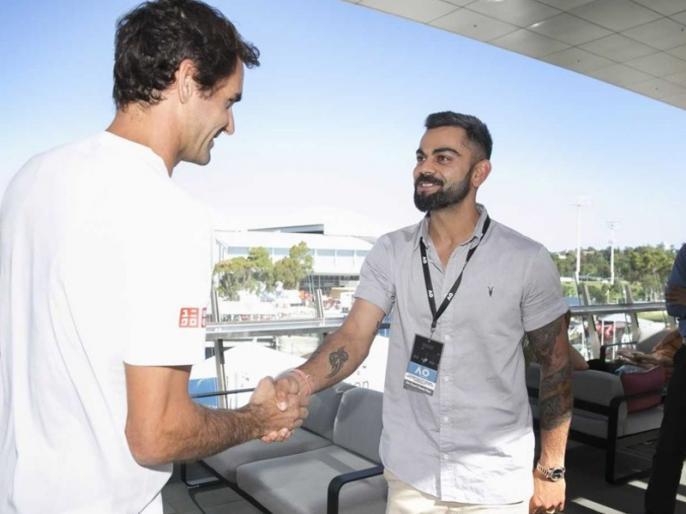 He remembered me was like wow, Virat Kohli Recalls Meeting Roger Federer At Australian Open | फेडरर से मुलाकात पर विराट कोहली का खुलासा, 'जब फेडरर ने कहा कि मैं उन्हें याद हूं, तो हैरान रह गया था'