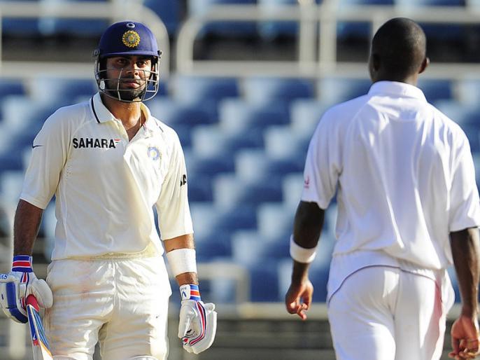 Virat Kohli was most afraid of Fidel Edwards | वेस्टइंडीज के इस तेज गेंदबाज से खौफ खाते थे कोहली, करियर खत्म होने का सताने लगा था डर