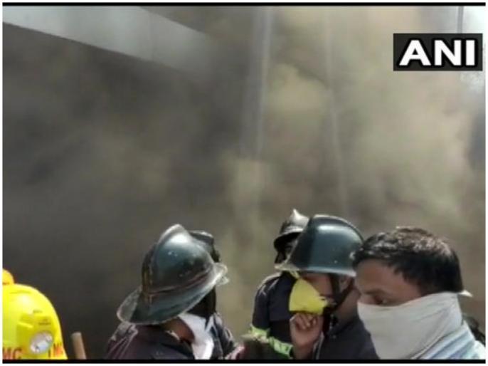 fire in lake city mall thane maharashtra news updates rescue operation on   महाराष्ट्र: ठाणे के लेक सिटी मॉल में लगी भीषण आग, राहत बचाव कार्य जारी
