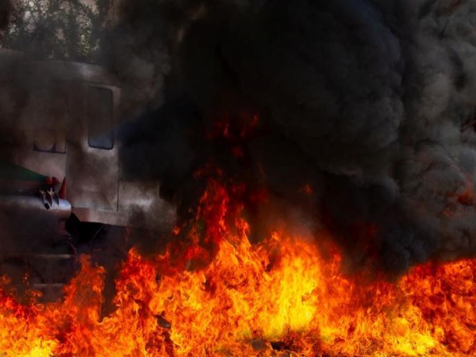 Fire in Kasambad village of Narayanpur block of Bhagalpur news | Bhagalpur Fire : गांव में आग ने मचाई तबाही, सब कुछ हो गया बर्बाद, जल गये करीब 500 घर