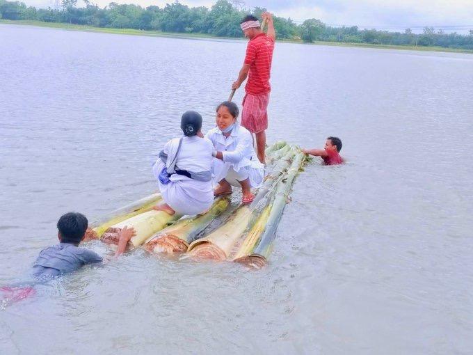 Nearly 40 lakh population of 14 districts of Bihar affected by flood | बिहार के 14 जिलों की करीब 40 लाख आबादी बाढ़ से प्रभावित