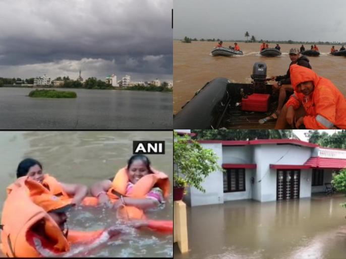 Floods in India: Flood havoc in Kerala and Karnataka, some districts of Odisha on alert | Floods in India: केरल और कर्नाटक में बाढ़ का कहर, ओडिशा के कुछ जिले अलर्ट पर