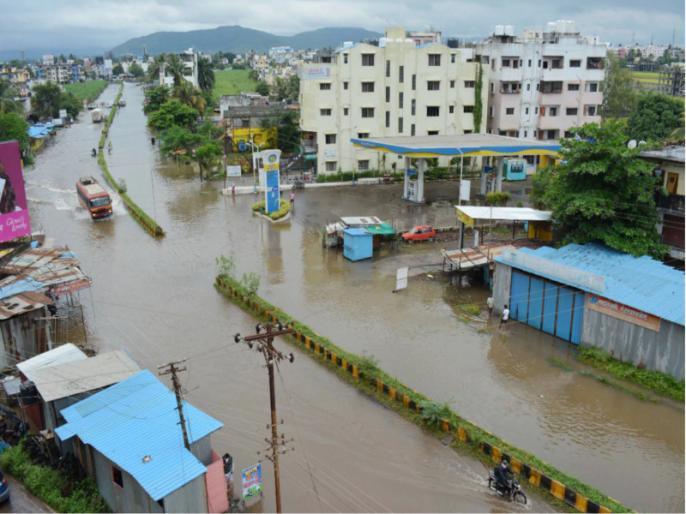 Flood-Like Situation in Hyderabad, flood situation in Karnataka critical   हैदराबाद में बारिश का नया दौर, कर्नाटक में बाढ़ की स्थिति गंभीर, कृष्णा और भीमा नदियों के उफान पर