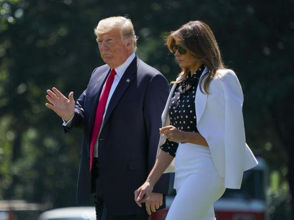 Melania Trump suspects Roger Stone behind nude photo leak, book claims | अमेरिकी राष्ट्रपति ट्रंप व उनकी पत्नी मेलानिया अलग-अलग कमरों में सोते हैं: किताब में दावा