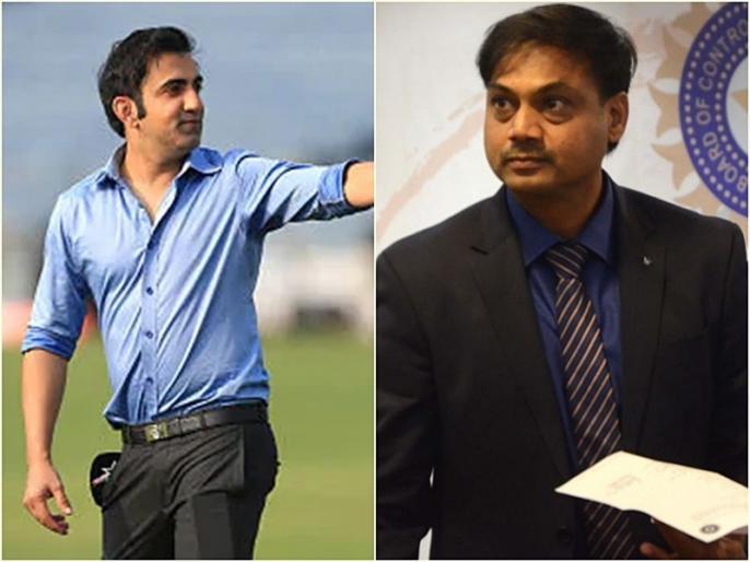 Gautam Gambhir, MSK Prasad engage in heated exchange over Ambati Rayudu World Cup omission | गंभीर और एमएसके प्रसाद के बीच हुई जोरदार बहस, अंबाती रायुडू को वर्ल्ड कप में नहीं चुनने पर जानिए पूर्व चीफ सेलेक्टर ने क्या कहा