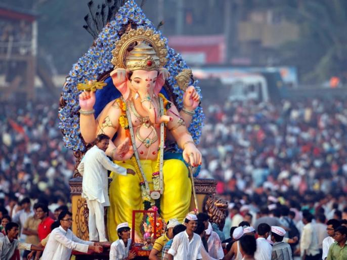 Ganesh chaturthi 2019: Bappa visarjan procession road ready for everyone, strong police arrangements | Ganesh chaturthi 2019: आज विदा होंगे, सबके दुलारे बाप्पा विसर्जन जुलूस मार्ग तैयार, पुलिस का तगड़ा बंदोबस्त