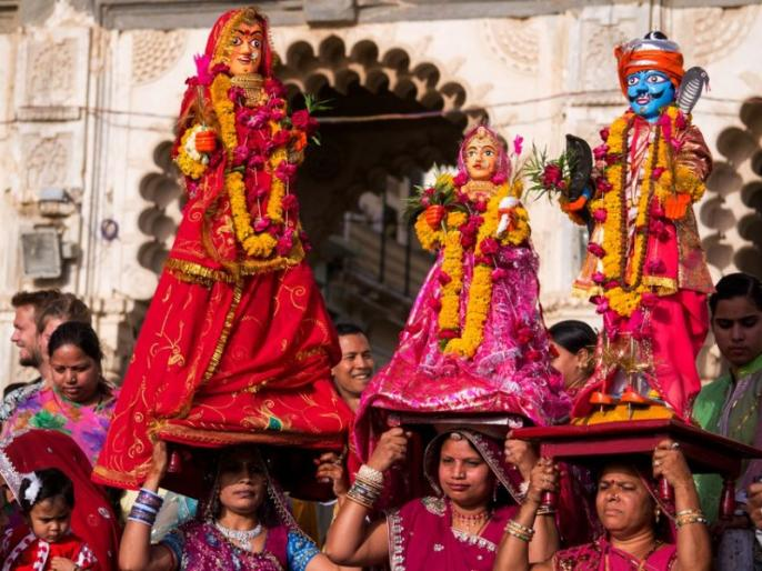 gangaur 2020 date puja vidhi shubh muhurat vrat katha puja time mantra in hindi | Gangaur Puja 2020: गणगौर पूजा आज, जानें पूजन विधि, शुभ समय और विसर्जन का सही तरीका