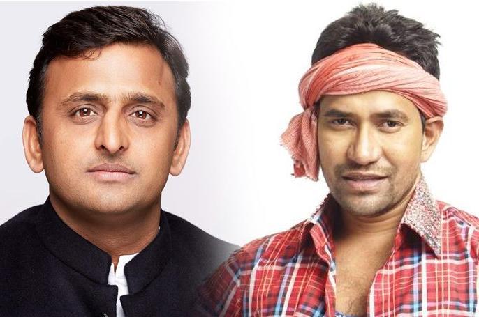 lok sabha election 2019 It is advantage Akhilesh in fight against Bhojpuri star Nirahua in Azamgarh. | यादव, मुस्लिम बहुल आजमगढ़ में सपा अध्यक्षअखिलेश यादव के सामनेभोजपुरी स्टार'निरहुआ'