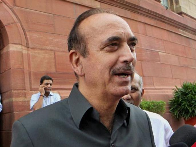 Congress leader Gulam Nabi Azad on Thursday likened Prime Minister Narendra Modi's decisions to that of the controversial 14 century Delhi ruler Mohammad Bin Tughlaq. | लोकसभा चुनावः गुलाम नबी आजाद ने कहा, मोहम्मद बिन तुगलक और पीएम मोदी एक समान