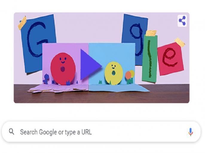 Mother's Day 2021 Google Doodle this is how you send wishes to mother through Doodle | Mother's Day Google Doodle: मदर्स डे पर गूगल ने बनाया खास डूडल, इसके जरिए ऐसे भेजें अपनी मां को शुभकामनाएं