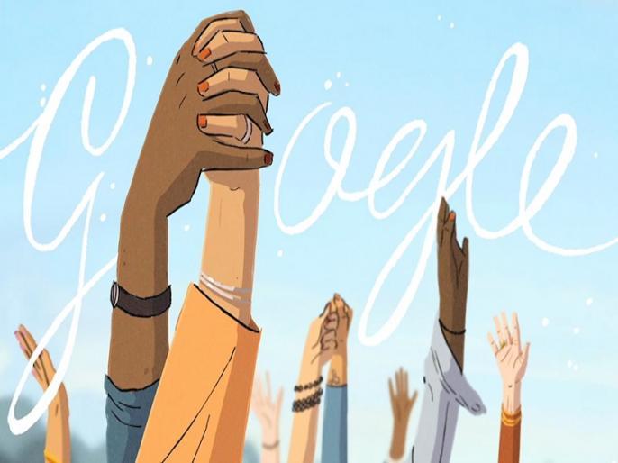 International Womesn Day 2021 Google Doodle, dedicates it to journey of women history   अंतरराष्ट्रीय महिला दिवस पर गूगल ने बनाया अनोखा डूडल, 41 सेकेंड के वीडियो में दिखा महिलाओं का पूरा सफर