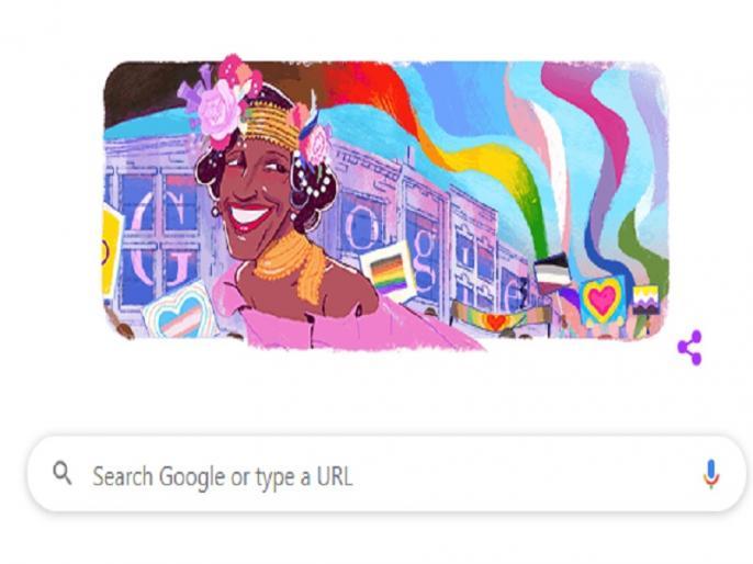 Google Doodle 30 june remembers pioneering transgender activist Marsha P Johnson | गूगल का खास डूडल, मार्शा पी जॉनसन को कर रहा है याद, समलैंगिक समुदाय के लिए उठाई थी आवाज