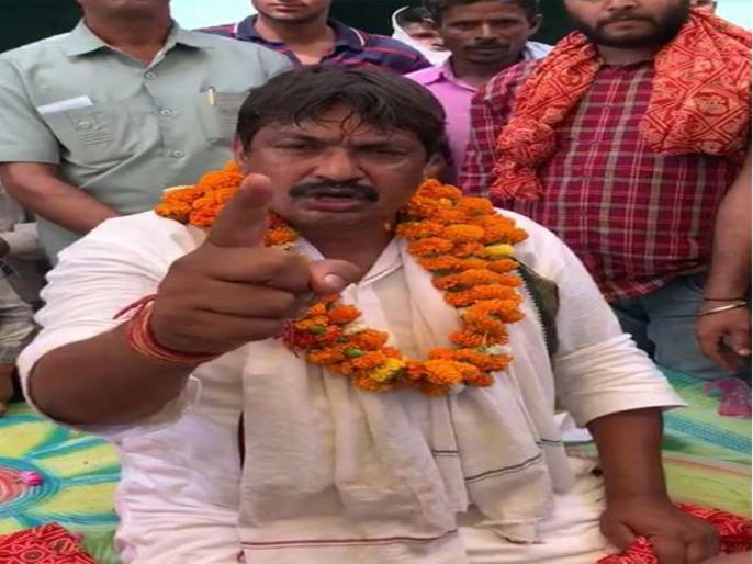 Fatehpur Sikri: BJP candidate Guddu Pandit controversial remark on raj babbar | BSP उम्मीदवार गुड्डू पंडित के बिगड़े बोल, कहा- राज बब्बर तुमको दौड़ा-दौड़ाकर जूतों से मारूंगा