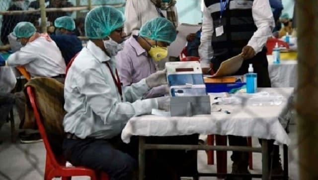 Gujarat Municipal Election Results 2021civic Countingsix municipal corporations BJP CongressAAP AIMIM | गुजरात निकाय चुनावःछह नगर निगम पर मतगणना जारी, भाजपा आगे, कांग्रेस, आप औरएआईएमआईएम दे रहे टक्कर