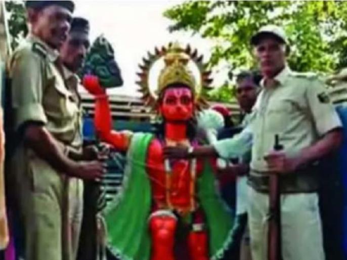 Bihar: Groups of devotees clash, Police takes Hanuman Statue in custody! Court order RS 32 lakh Bail Bond | बिहार: विवादित जमीन पर 'हनुमान जी' को लेकर झड़प, पुलिस ने हिरासत में ली मूर्ति
