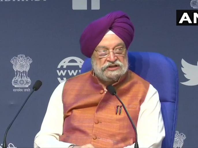 Civil Aviation Minister Hardeep Singh Puri addresses the media in Delhil | Hardeep Singh Puri Press Conference: कब शुरू होगी इंटरनेशनल फ्लाइट, सरकार ने निर्धारित किया घरेलू फ्लाइट्स के लिए न्यूनतम और अधिकतम किराया