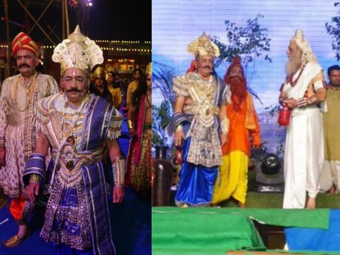 Union Minister Dr. Harshvardhan played role of Raja Janak in Luv Kush Ram Leela Old Delhi | रामलीला में केंद्रीय मंत्री हर्षवर्धन ने निभाई राजा जनक की भूमिका, वीडियो हुआ वायरल