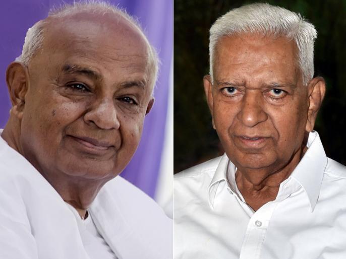 Karnataka Election result did HD Deve Gowda and Vajubhai Vala 22 year old contention cost jds and congress the cm seat | तो क्या देवगौड़ा को 22 साल पहले वजुभाई वाला की कुर्सी खाने की कीमत चुकानी पड़ रही है?