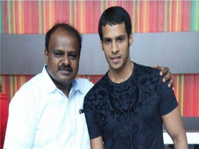 hd kumaraswamy son nikhil will fight lok sabha election from Mandya constituency | कर्नाटक CM कुमारस्वामी के बेटे निखिल की राजनीति में एंट्री, मांड्या लोकसभा सीट से लड़ेंगे चुनाव