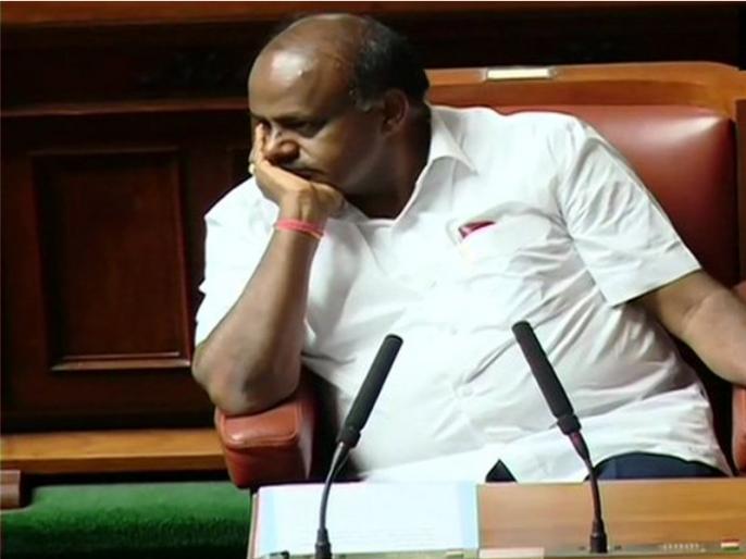 Karnataka: HD kumaraswamy government fails trust vote in Assembly, congress jds government falls   BJP की चाल के आगे लाख कोशिशें करने के बाद भी कुमारस्वामी नहीं बचा पाए कांग्रेस-JDS सरकार