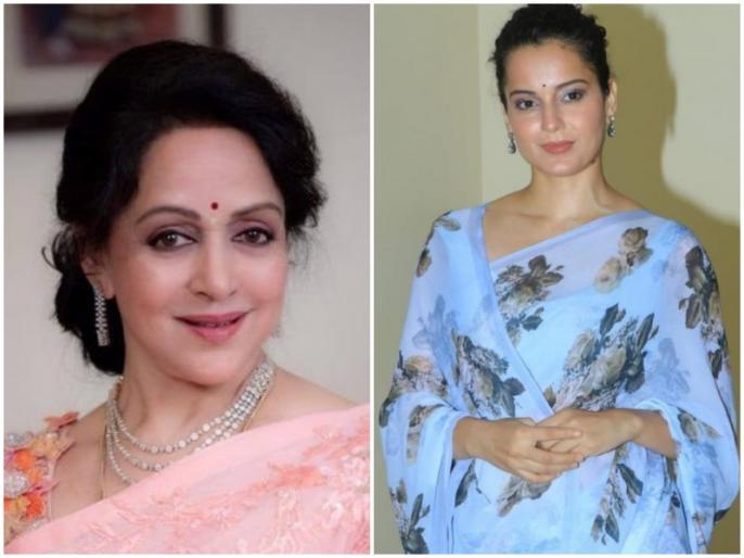 Hema Malini or Kangana Ranaut, which path will BJP lead?   हेमा मालिनी या कंगना रनौत, किस राह आगे बढ़ेगी बीजेपी?