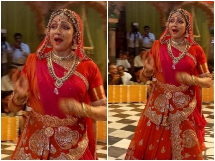 Image result for Hariyali Teej Jhulan Utsav: हरियाली तीज पर झूलन महोत्सव में हेमा मालिनी ने किया नृत्य
